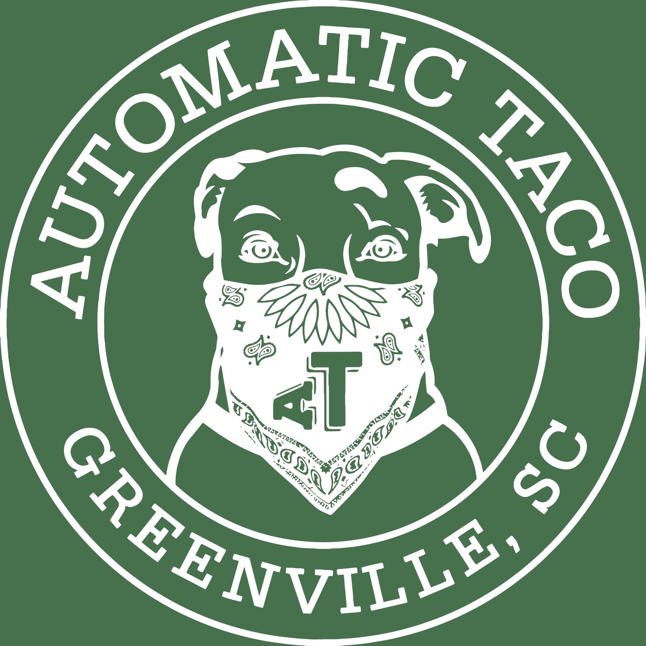 Automatic Taco White Logo