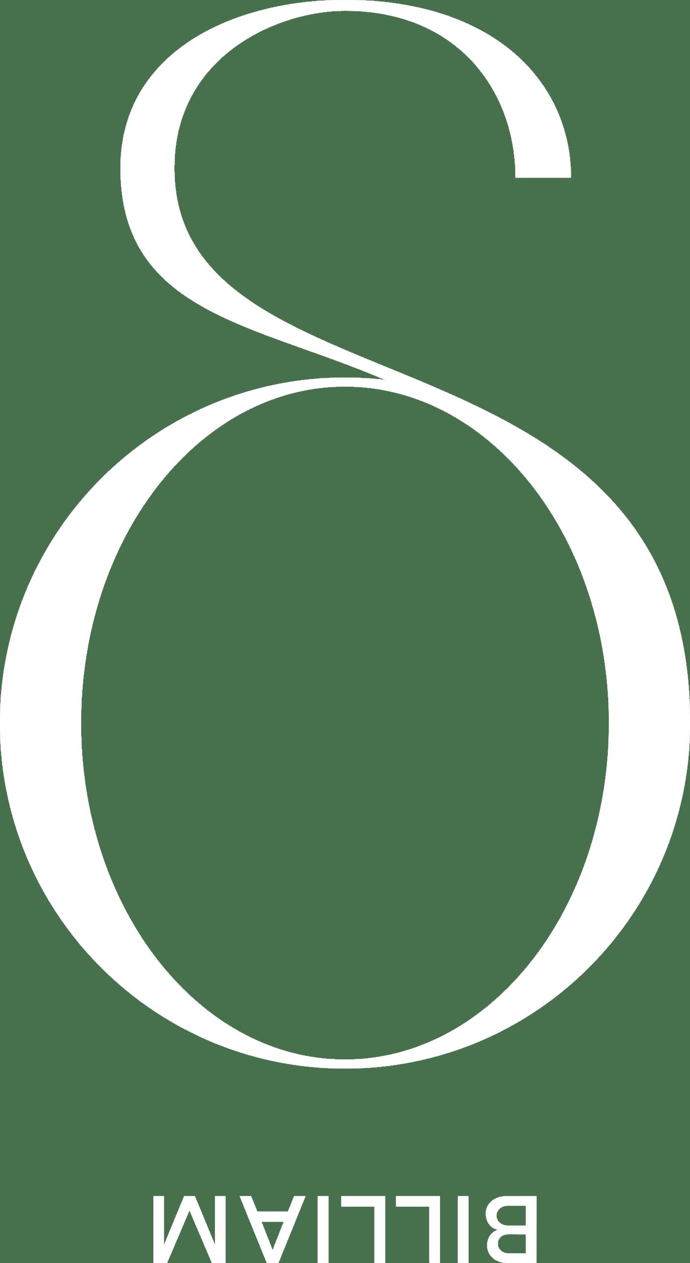 Billiam Jeans White Logo