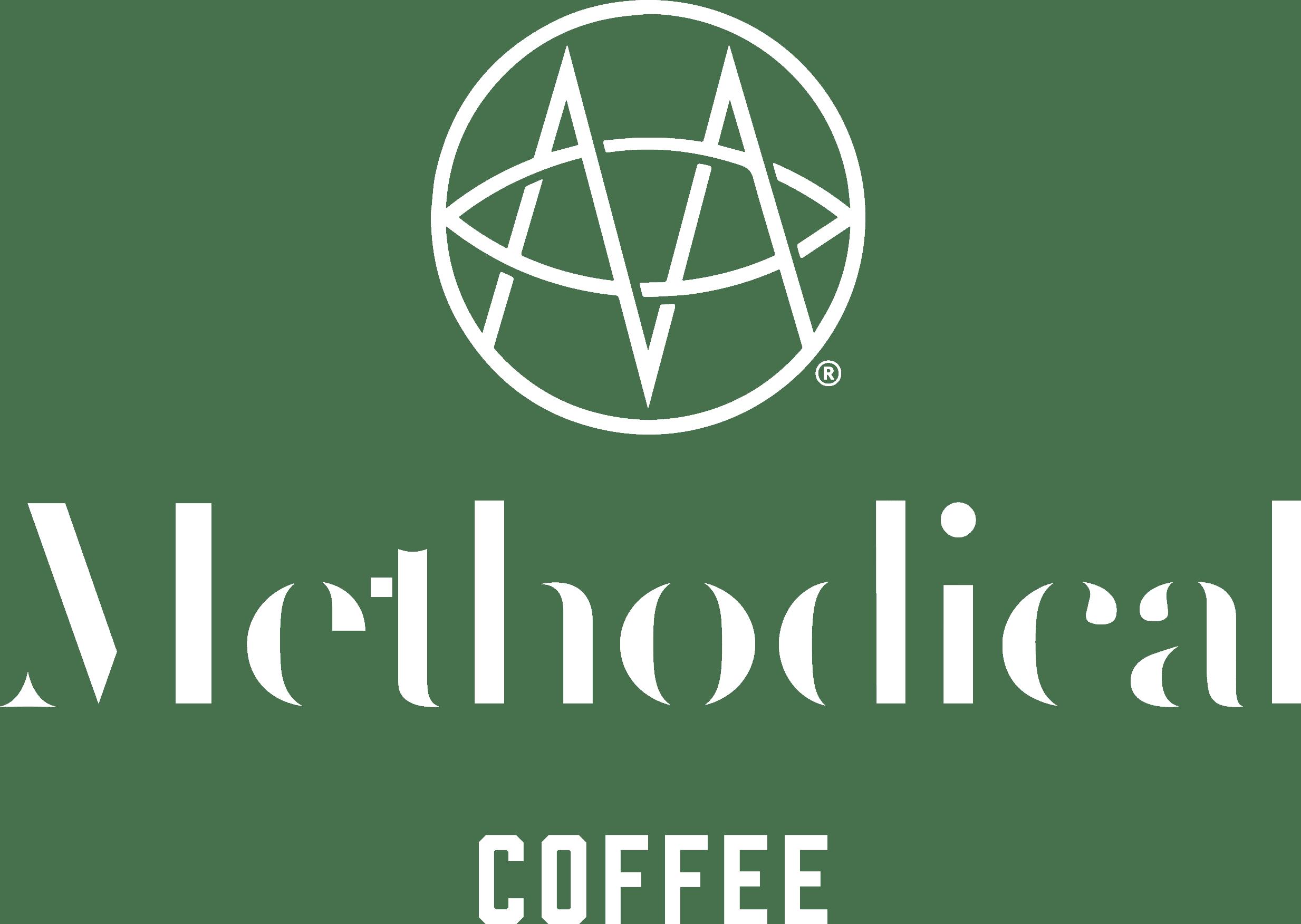 Methodical Coffee White Logo