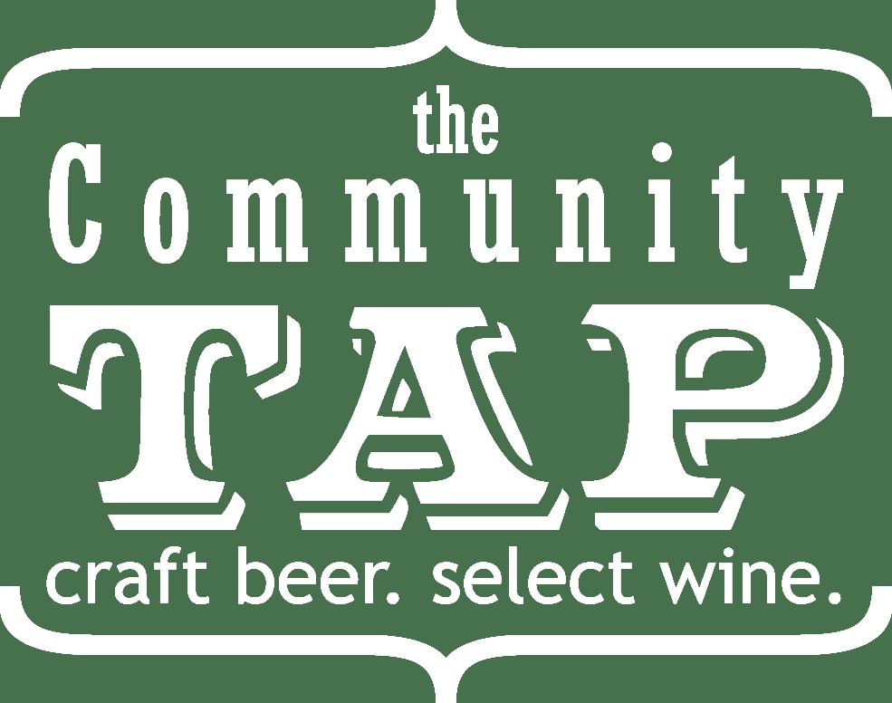 Community Tap White Logo
