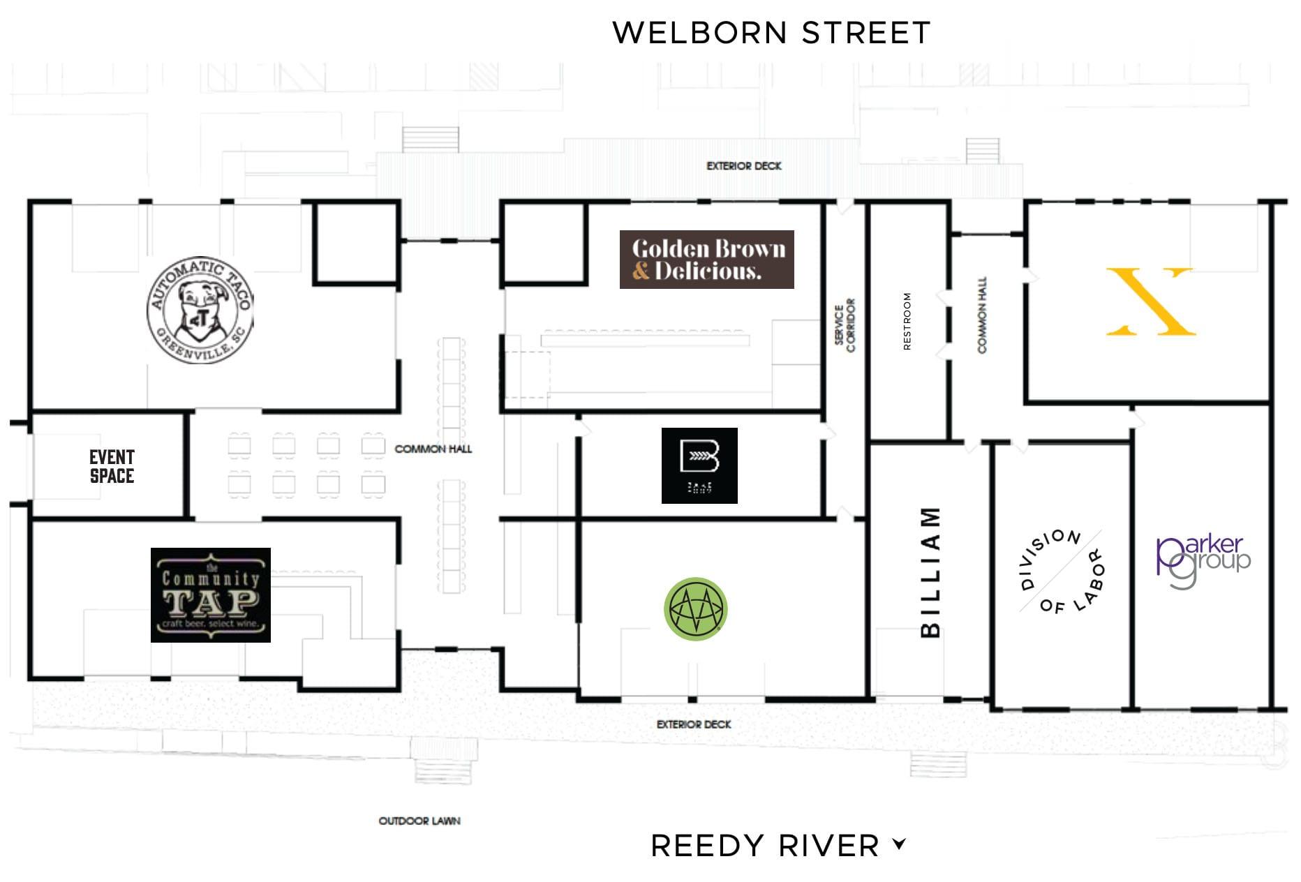 Methodical Coffee Floorplan