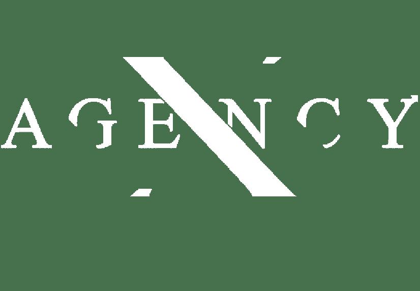X-Agency White Logo