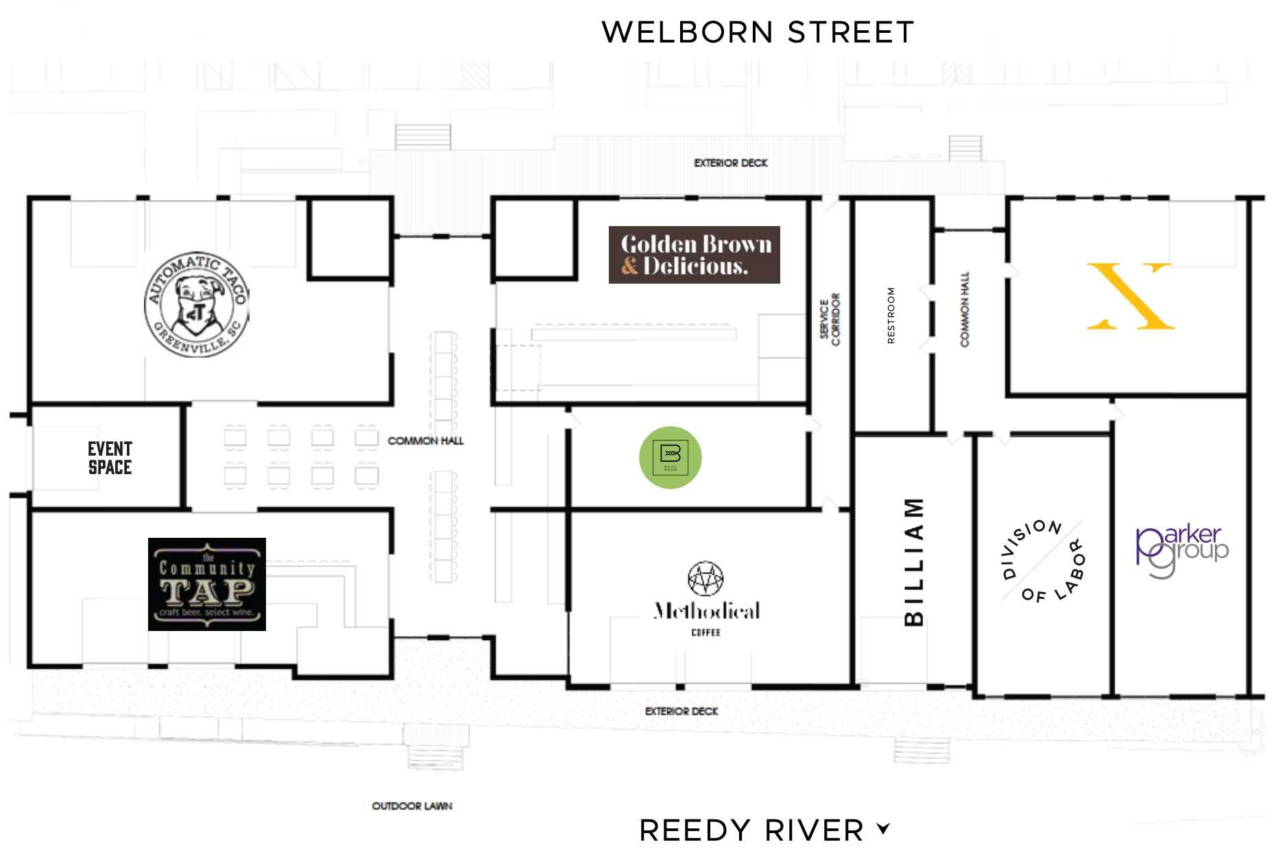 Bakeroom Floorplan